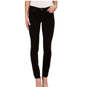 Cloth & Stone Black Micro Cord Skinny Jeggings 26